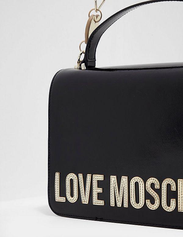 Love Moschino Peace Heart Chain Bag