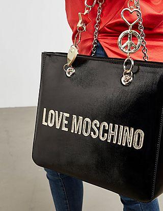 Love Moschino Peace Heart Tote
