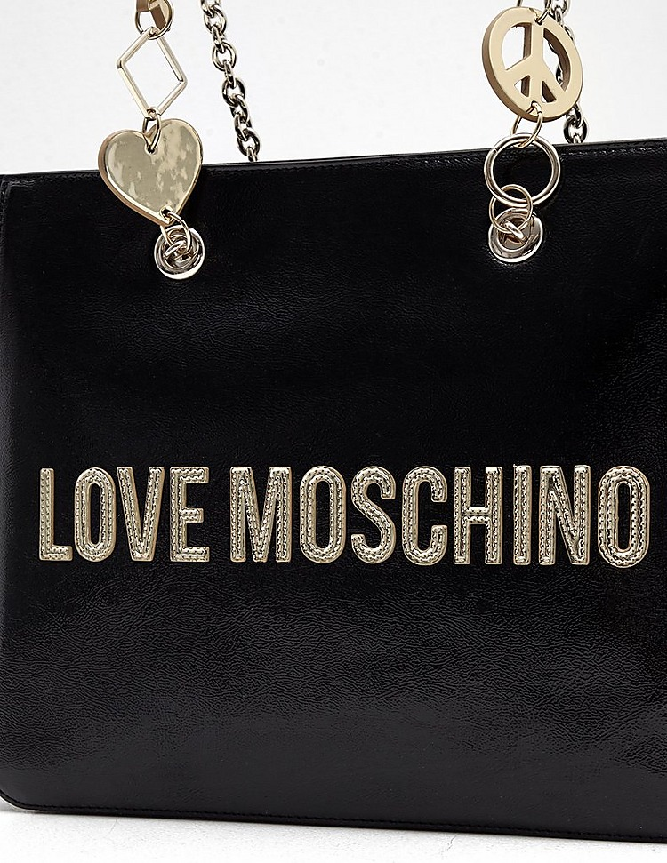Love Moschino Peace Heart Tote