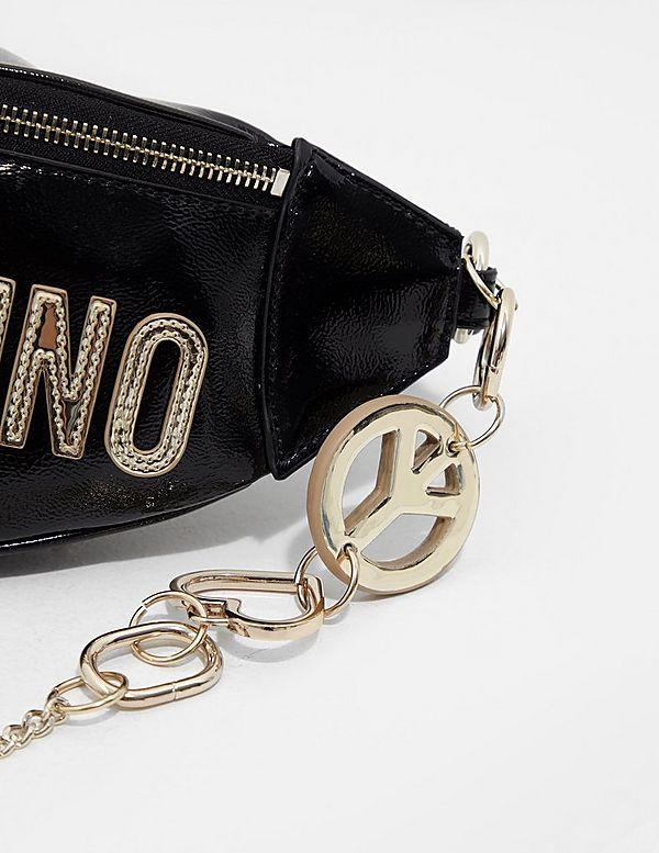 Love Moschino Peace Heart Bum Bag