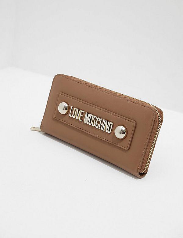 Love Moschino Stud Logo Purse