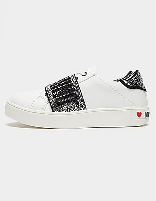 Love Moschino Crystal Low Trainers