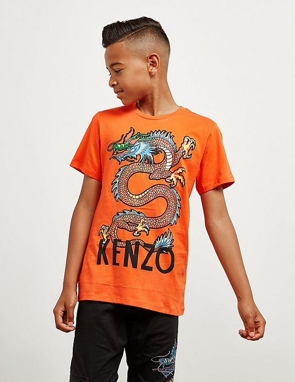 KENZO Dragon Short Sleeve T-Shirt