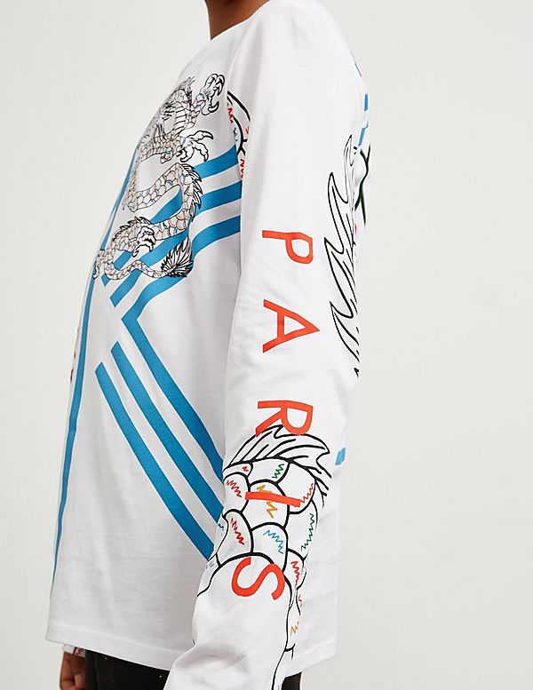 KENZO Dragon Tiger Long Sleeve T-Shirt