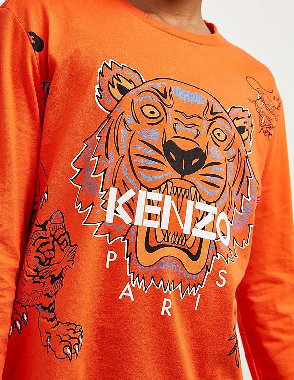KENZO Tiger Dragon Long Sleeve T-Shirt