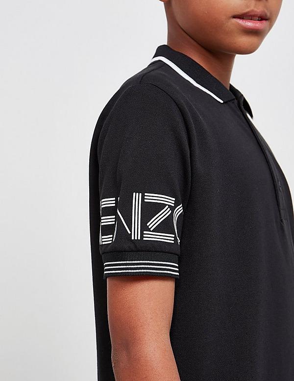 KENZO Letter Short Sleeve Polo
