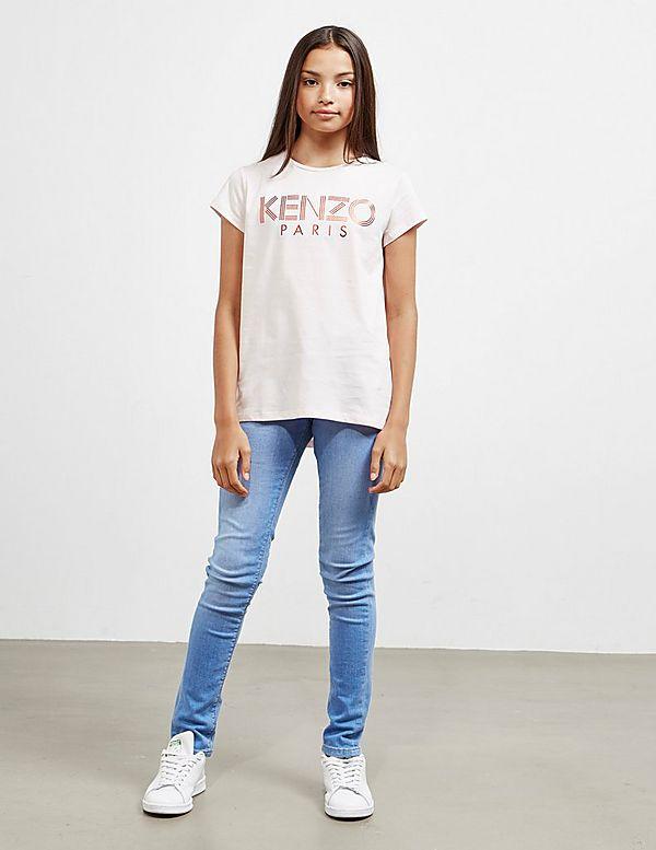KENZO Letter Short Sleeve T-Shirt