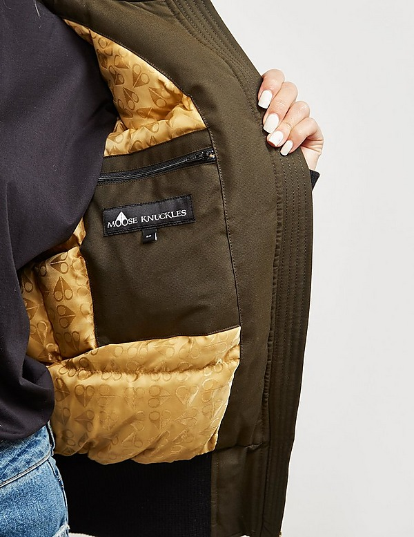 Moose Knuckles Sainte Bomber Jacket