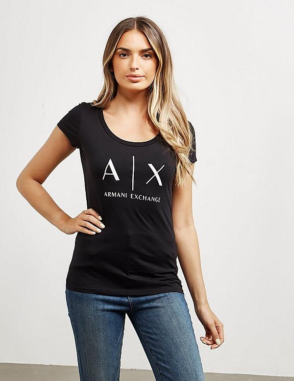 Armani Exchange Slim Logo Short Sleeve T-Shirt