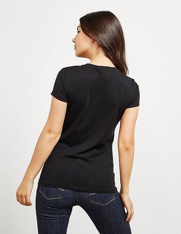 Armani Exchange Mirror Logo Short Sleeve T-Shirt