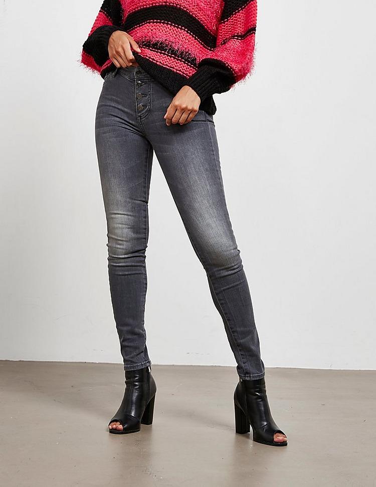 Armani Exchange Skinny Button Jeans