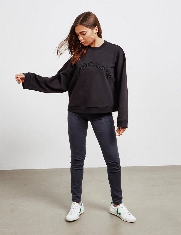 Emporio Armani Embroidered Sweatshirt