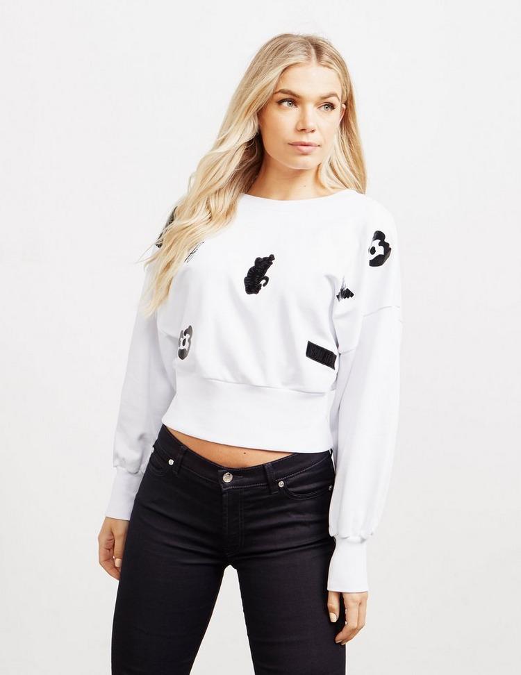 Emporio Armani Patch Crew Sweatshirt
