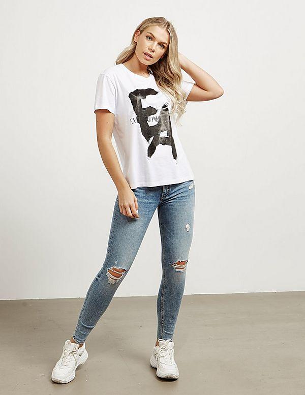 Emporio Armani Graffiti Short Sleeve T-Shirt