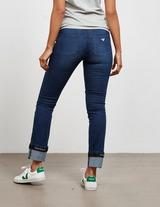 Emporio Armani Turn Up Tape Jeans