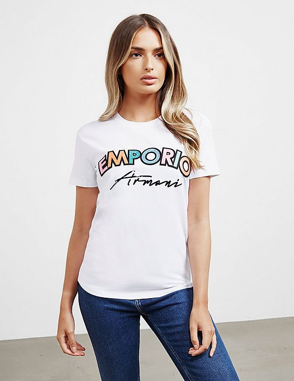 Emporio Armani Sequin Short Sleeve T-Shirt