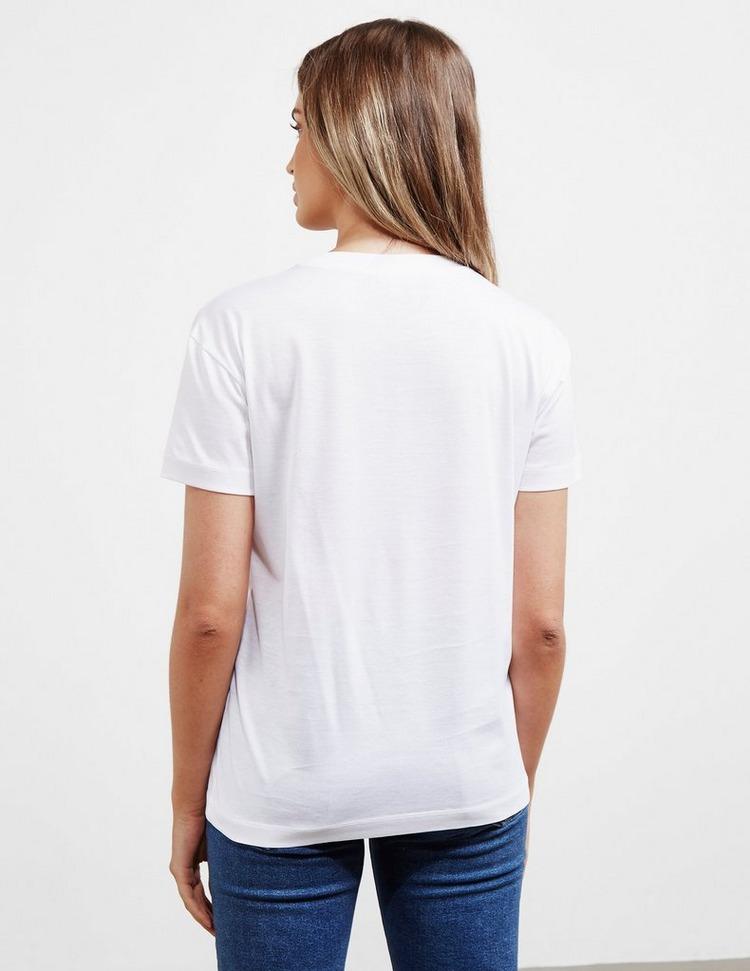 Emporio Armani Circle Letter Short Sleeve T-Shirt