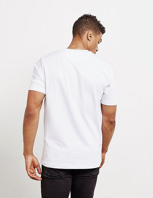 Love Moschino Stripe Box Short Sleeve T-Shirt