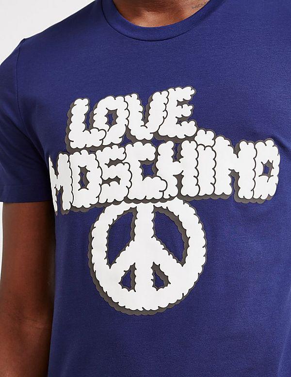 Love Moschino Cloud Logo Short Sleeve T-Shirt