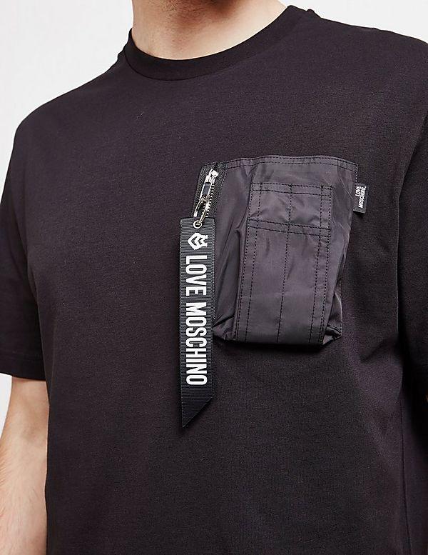 Love Moschino Pocket Tag Short Sleeve T-Shirt