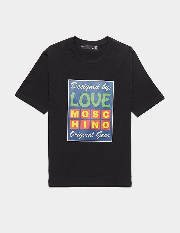 Love Moschino Neon Box Short Sleeve T-Shirt