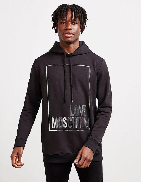 Love Moschino Stripe Box Hoodie