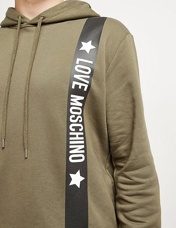 Love Moschino Stripe Hoodie