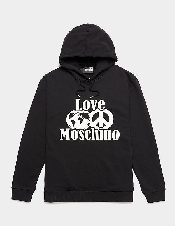 Love Moschino Peace World Hoodie