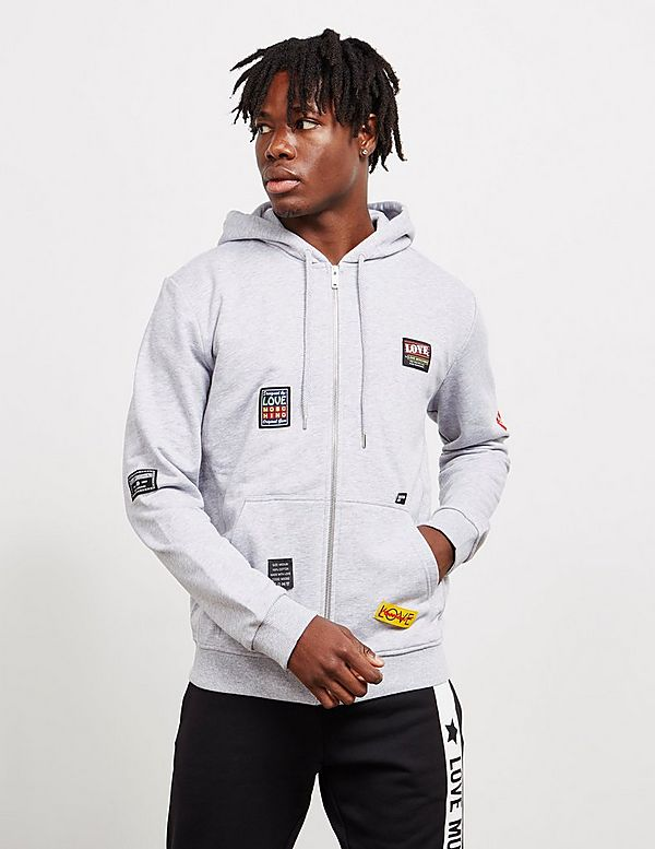 Love Moschino Patch Hoodie
