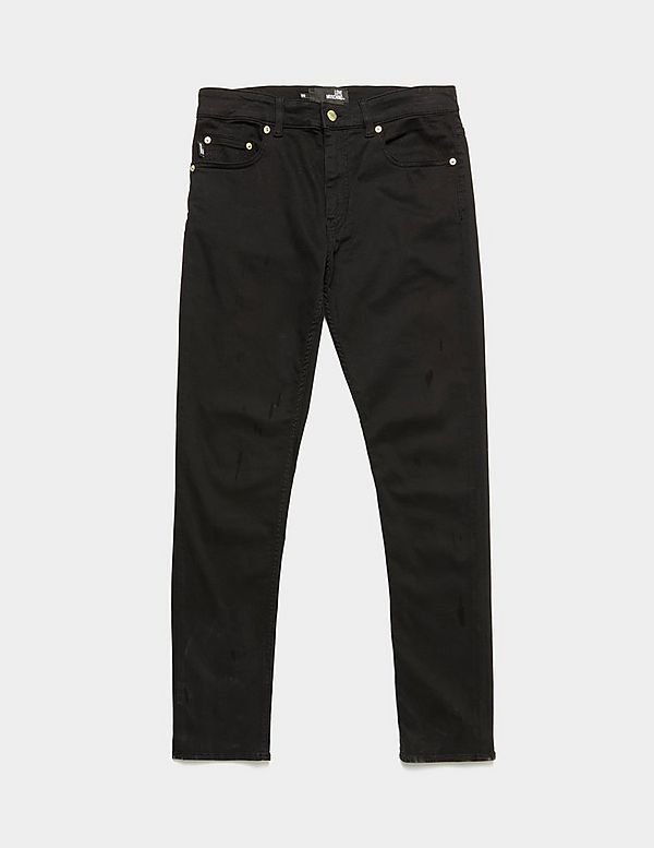 Love Moschino Peace Skinny Jeans