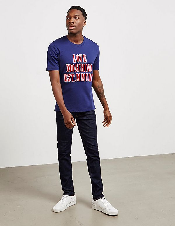 Love Moschino Peace Slim Jeans