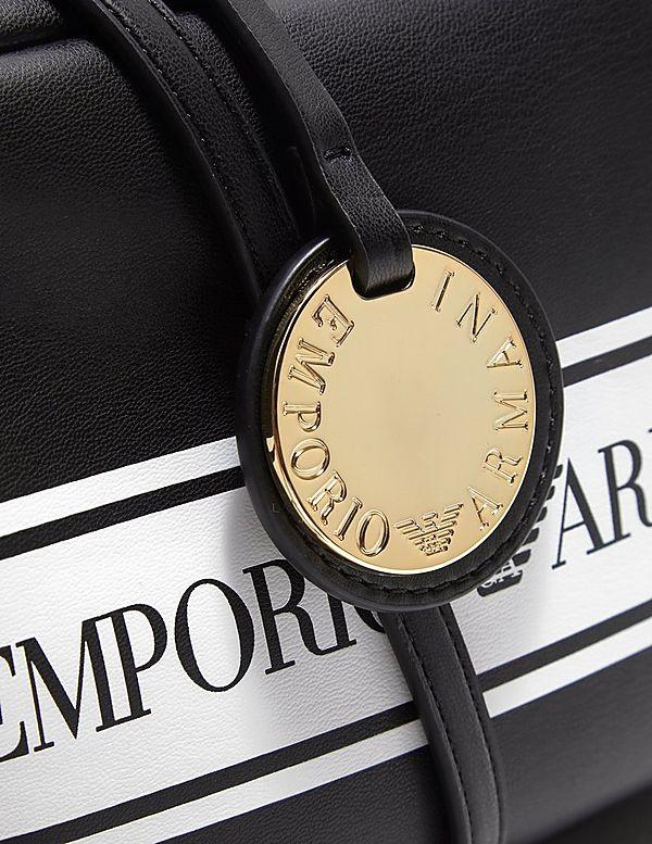 Emporio Armani Tape Logo Camera Bag