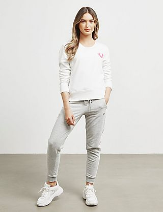 True Religion Buddha Logo Sweatshirt