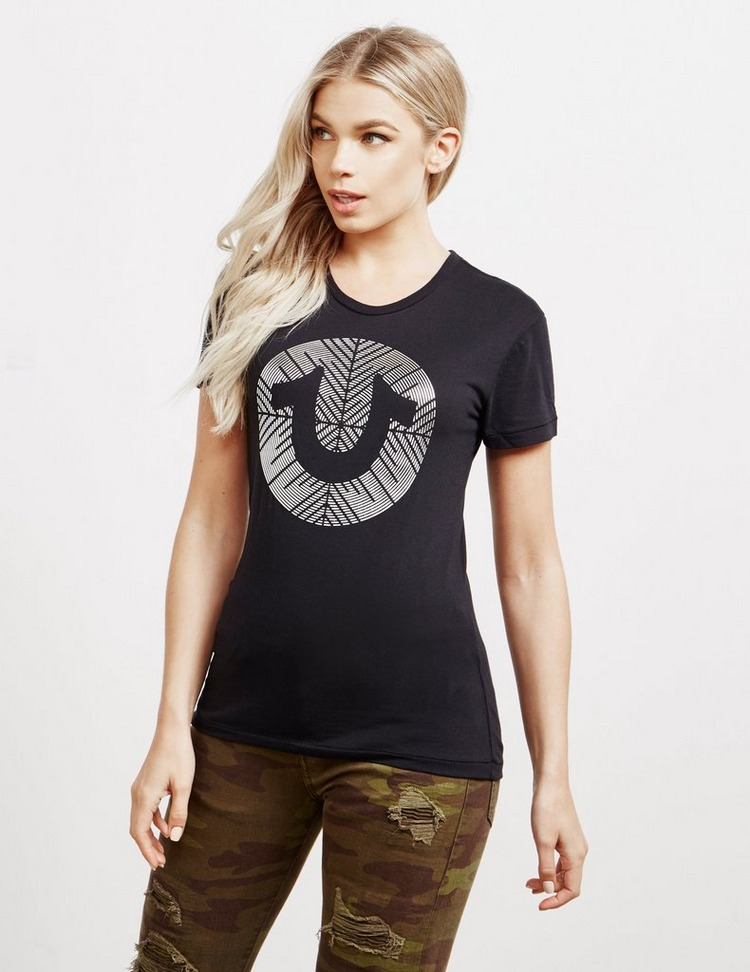 True Religion Foil Maze Short Sleeve T-Shirt