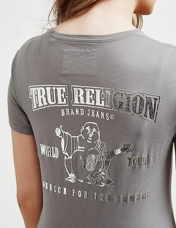 True Religion World Tour Short Sleeve T-Shirt