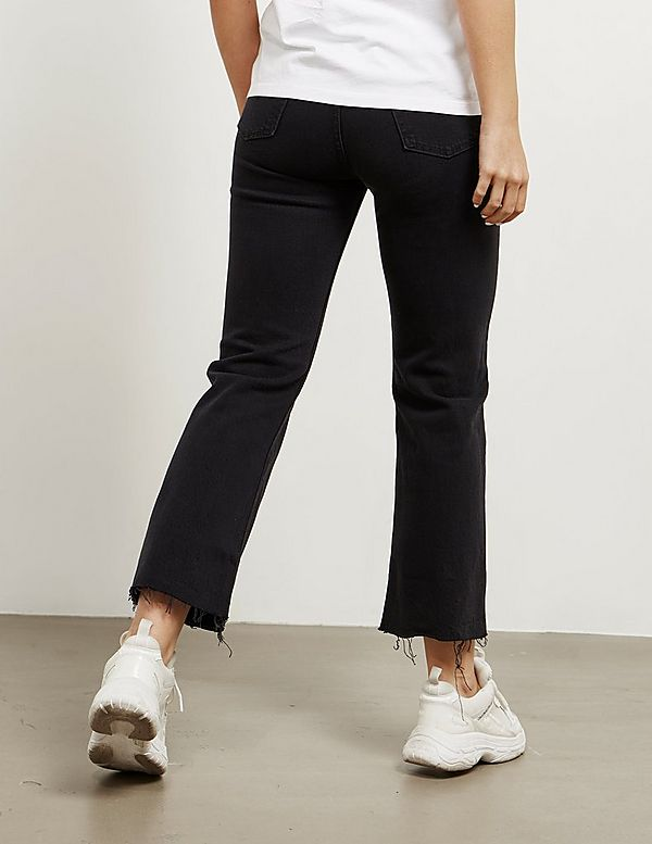 Levis Ribcage Crop Flare Jeans
