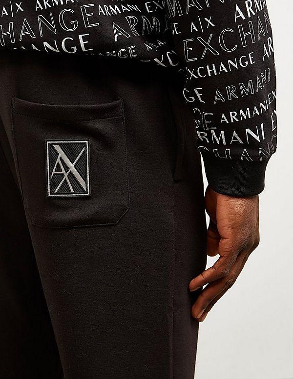 Armani Exchange Reflective Cuffed Track Pants