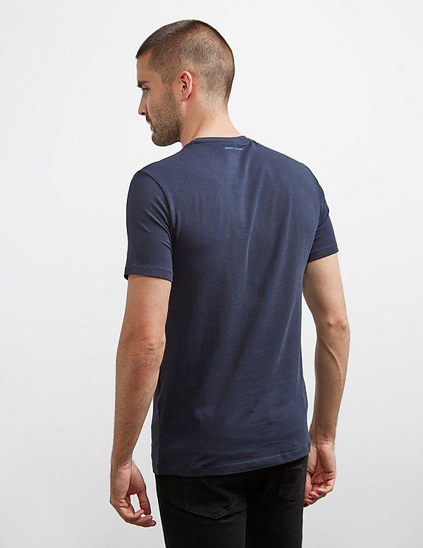 Armani Exchange Plastasol Short Sleeve T-Shirt