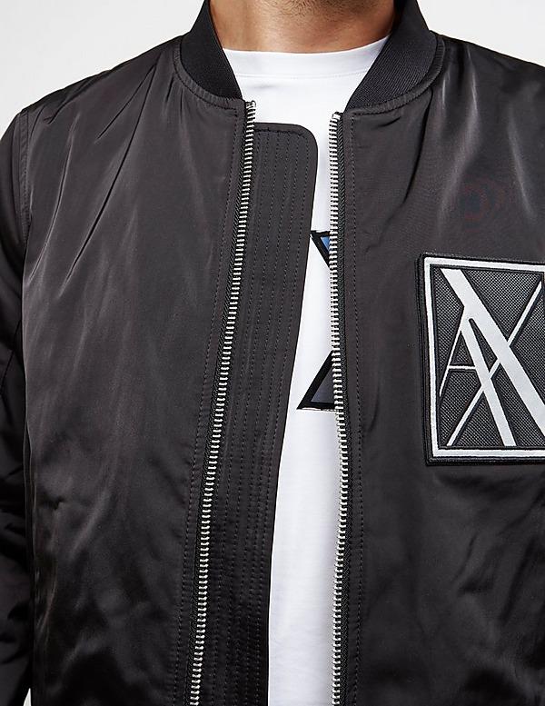 Armani Exchange Reflective Bomber Jacket