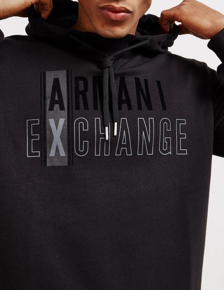 Armani Exchange Block Overhead Hoodie