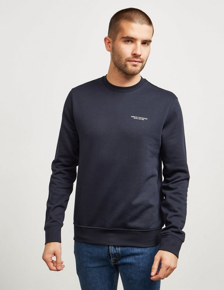 Armani Exchange Basic Crew Sweatshirt