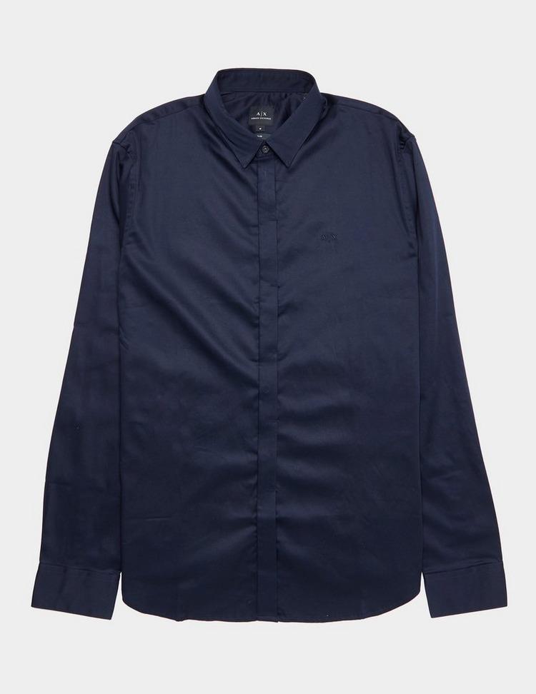 Armani Exchange Long Sleeve Button Up Shirt