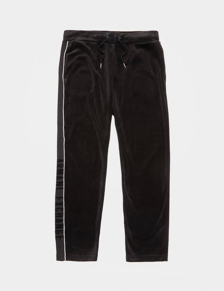 Armani Exchange Velour Track Pants