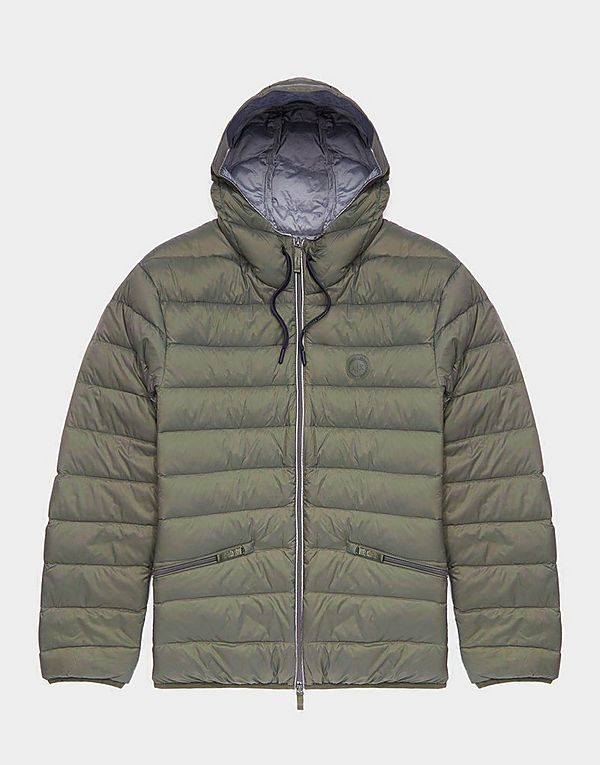 Armani Exchange Lightweight Hooded Down Jacket