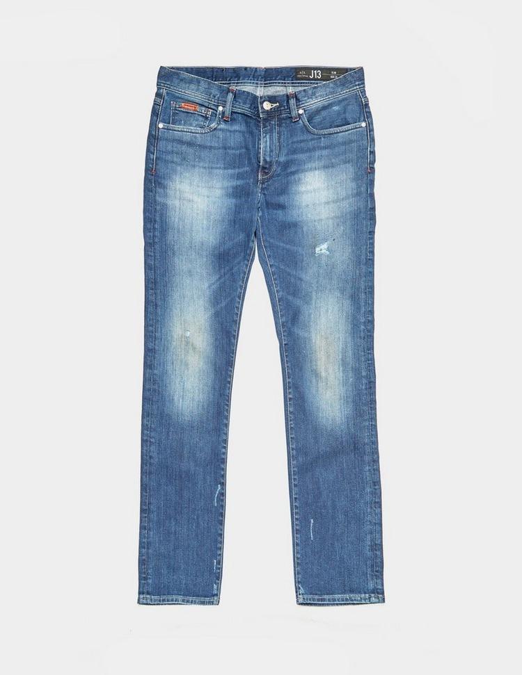 Armani Exchange Slim Distressed Jeans