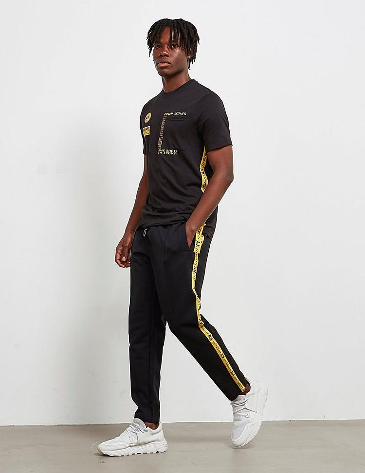 Armani Exchange Tape Logo Track Pants