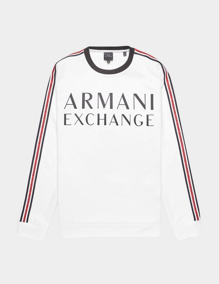 Armani Exchange Tape Sleeve Sweatshirt