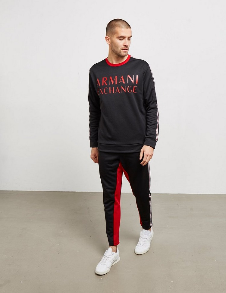 Armani Exchange Tape Sleeve Sweatshirt