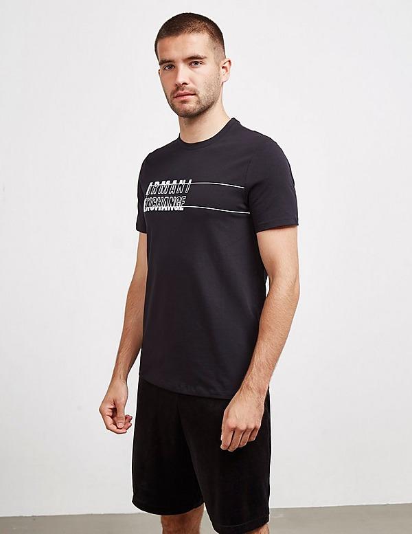 Armani Exchange Offset Logo Short Sleeve T-Shirt