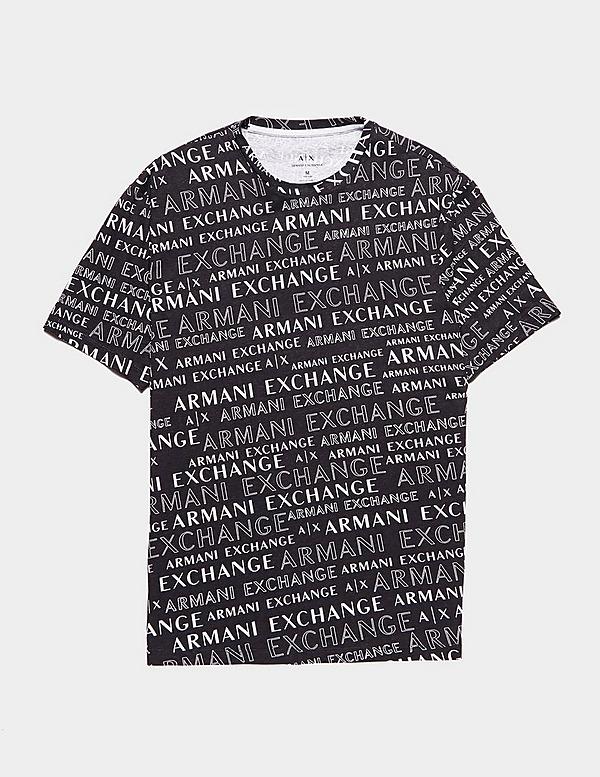 Armani Exchange Logo Short Sleeve T-Shirt